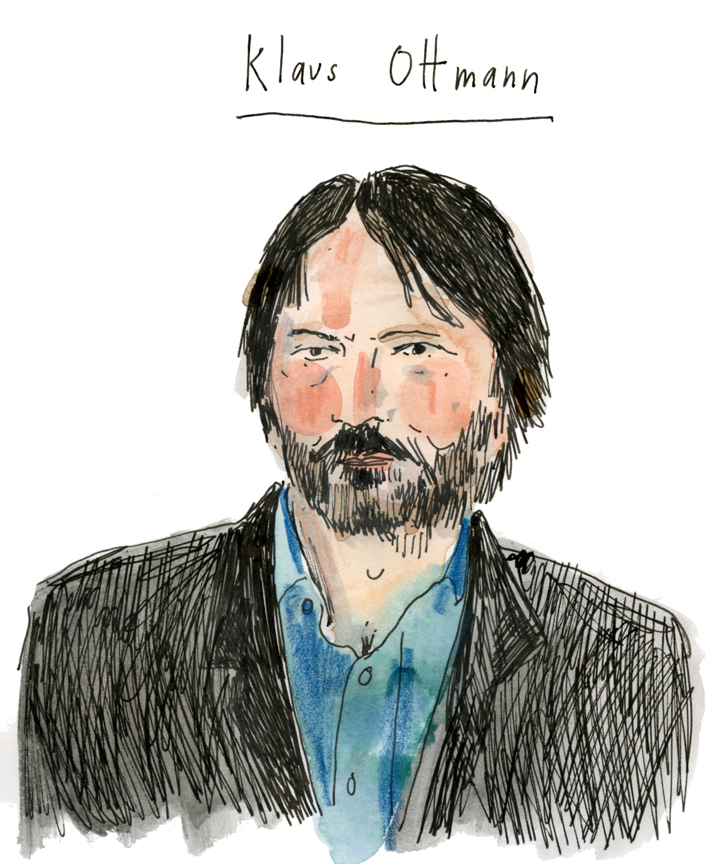 Drawing of Klaus Ottman