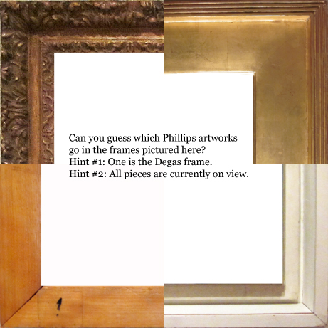 Frame Game by | The Experiment Station | The Phillips Collection