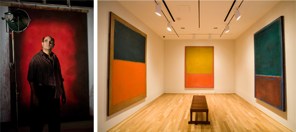 Rothko On The Wall And On The Stage By The Experiment
