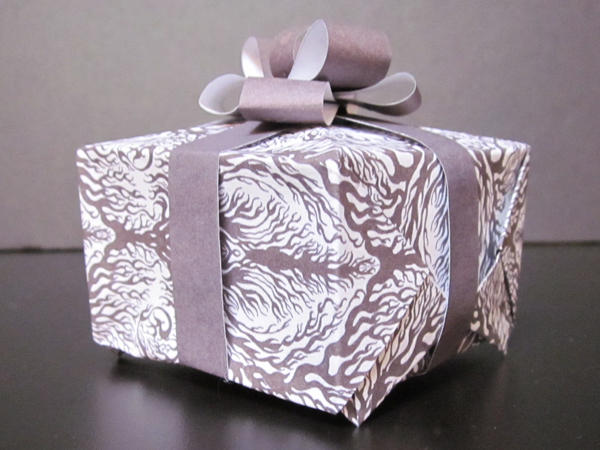 Photo of a hand-made gift box by Michelle Herman