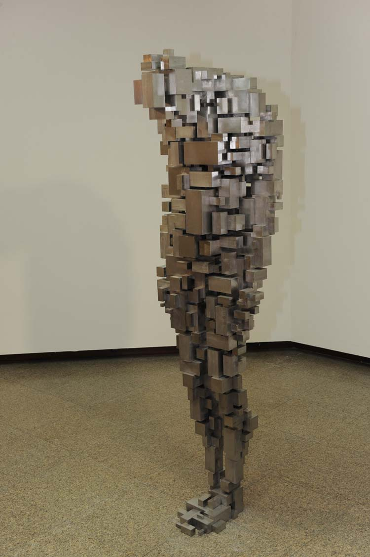 Antony Gormley, Loss, as part of Still Being, São Paulo. Photo: Carlo Ferreri