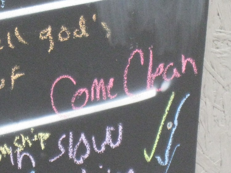 Come Clean. Photo: Amanda Jiron-Murphy