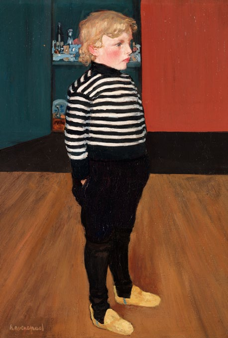 Henri Evenepoel, Charles in a Striped Jersey, ca. 1898.