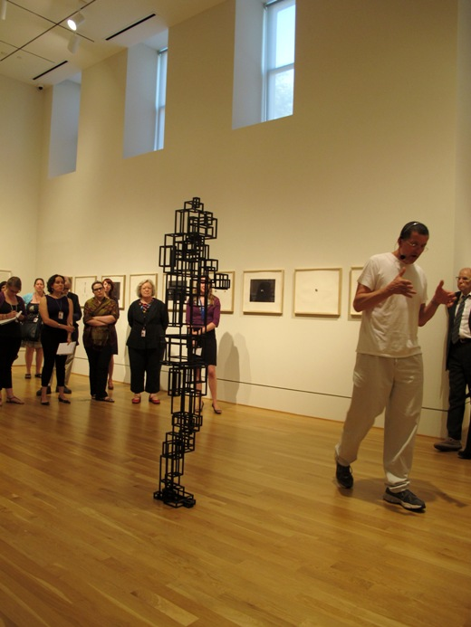 Antony Gormley gives a talk