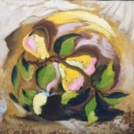 John D. Graham, Pears, 1926. Oil on canvas; 14 1/8 x 17 1/8 in. Gift of Marjorie Phillips, 1985.