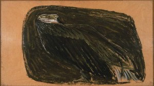 Morris Graves, Eagle, c.1942. Gouache on paper, 21 x 36 in. The Phillips Collection, Washington, D.C. Acquired 1942.