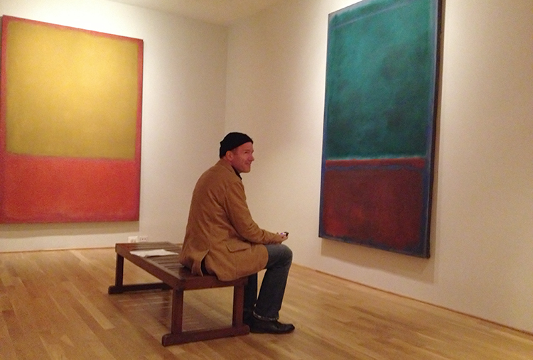 Rick Moody in the Rothko Room