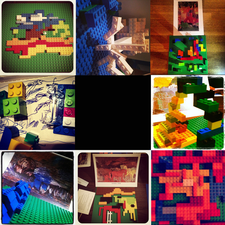 Lego winners collage