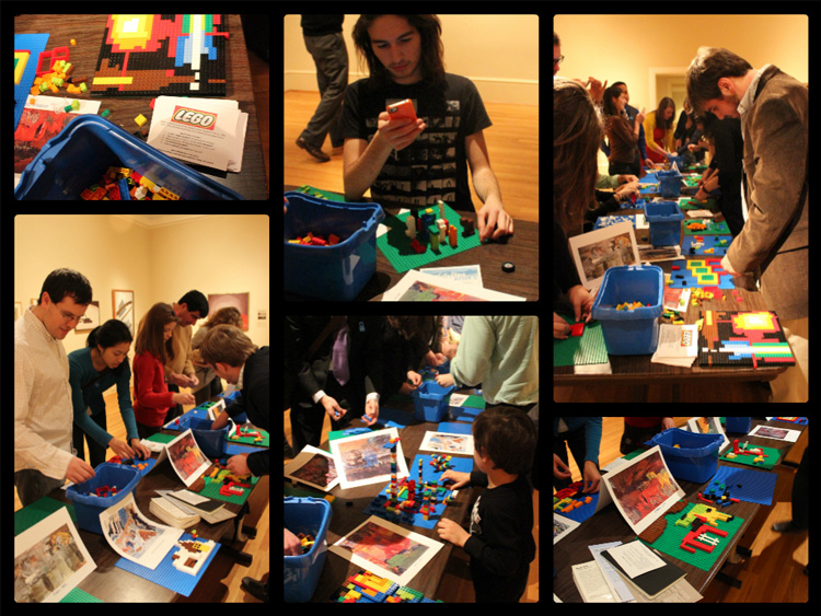Legos at Pa5 Photo Collage
