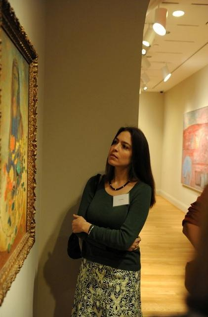 Poet Sandra Beasley at The Phillips Collection. Photo: James R. Brantley