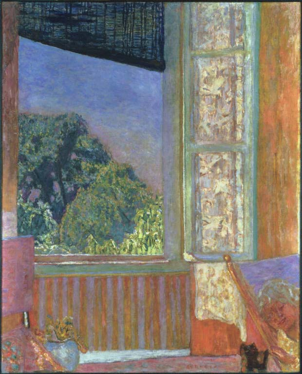 Pierre Bonnard, The Open Window, 1921. Oil on canvas, 46 1/2 x 37 3/4 in. The Phillips Collection, Washington, D.C. Acquired 1930