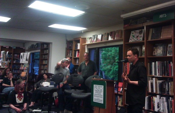 Alec at Politics and Prose