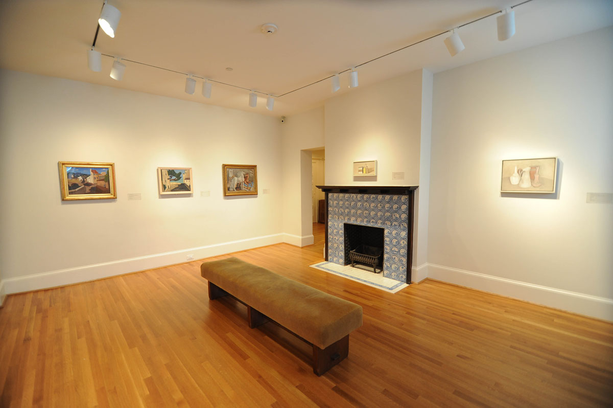 New installation of works inspired by Italy in Gallery C. Photo: Joshua Navarro.