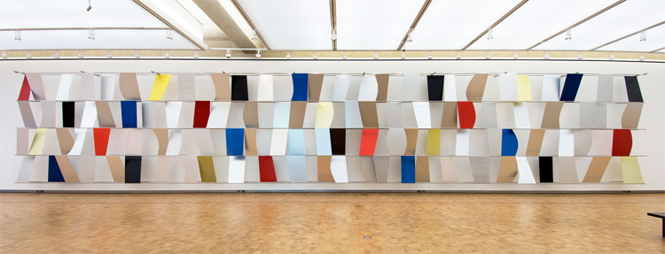 sculpture for a large wall by Ellsworth Kelly