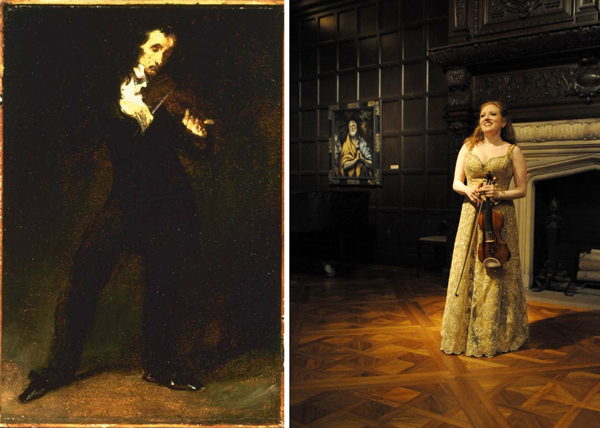 Pagainini and Rachel Barton Pine