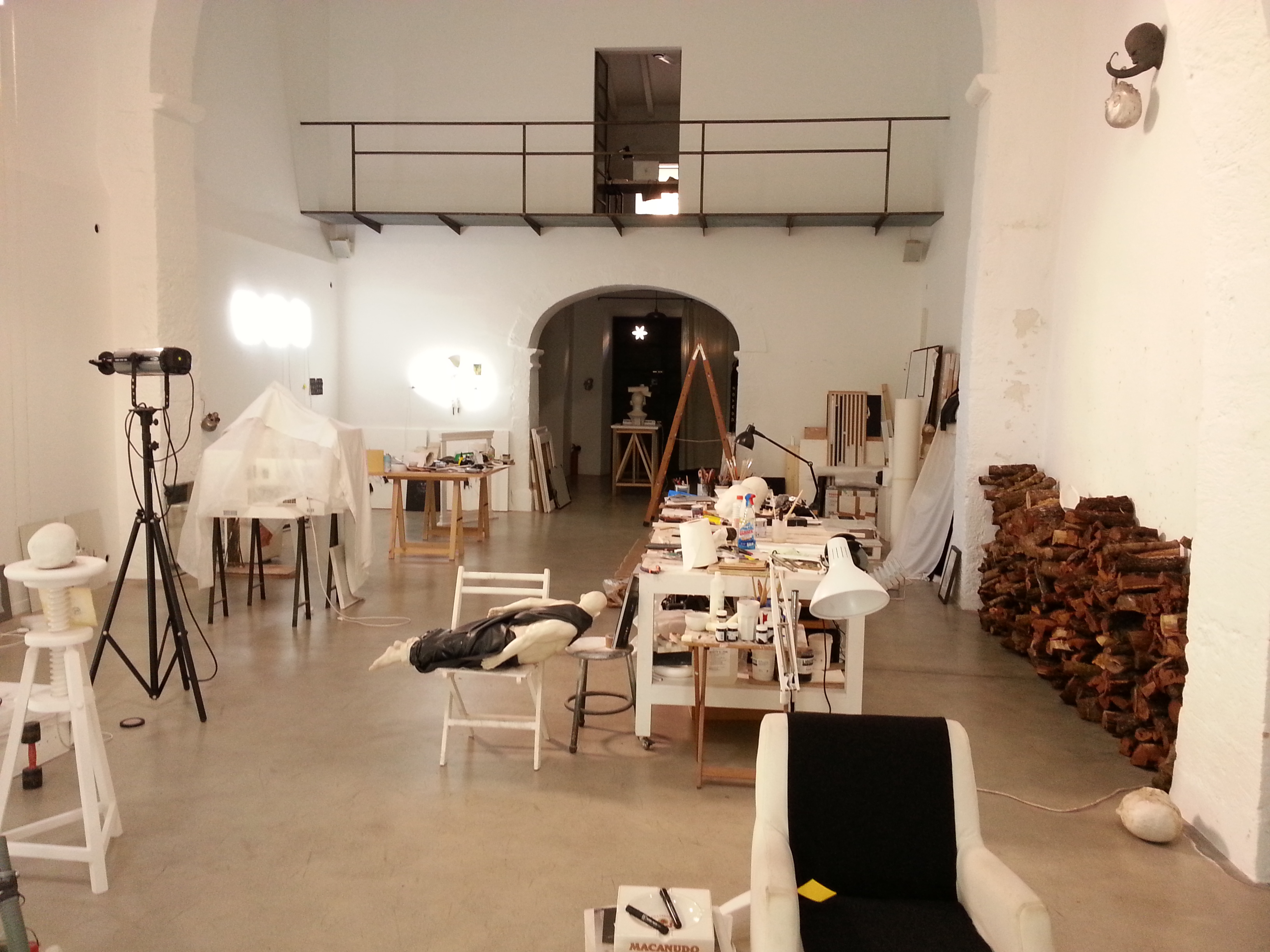 Bernardi Roig's studio. Photo: Vesela Sretenovic