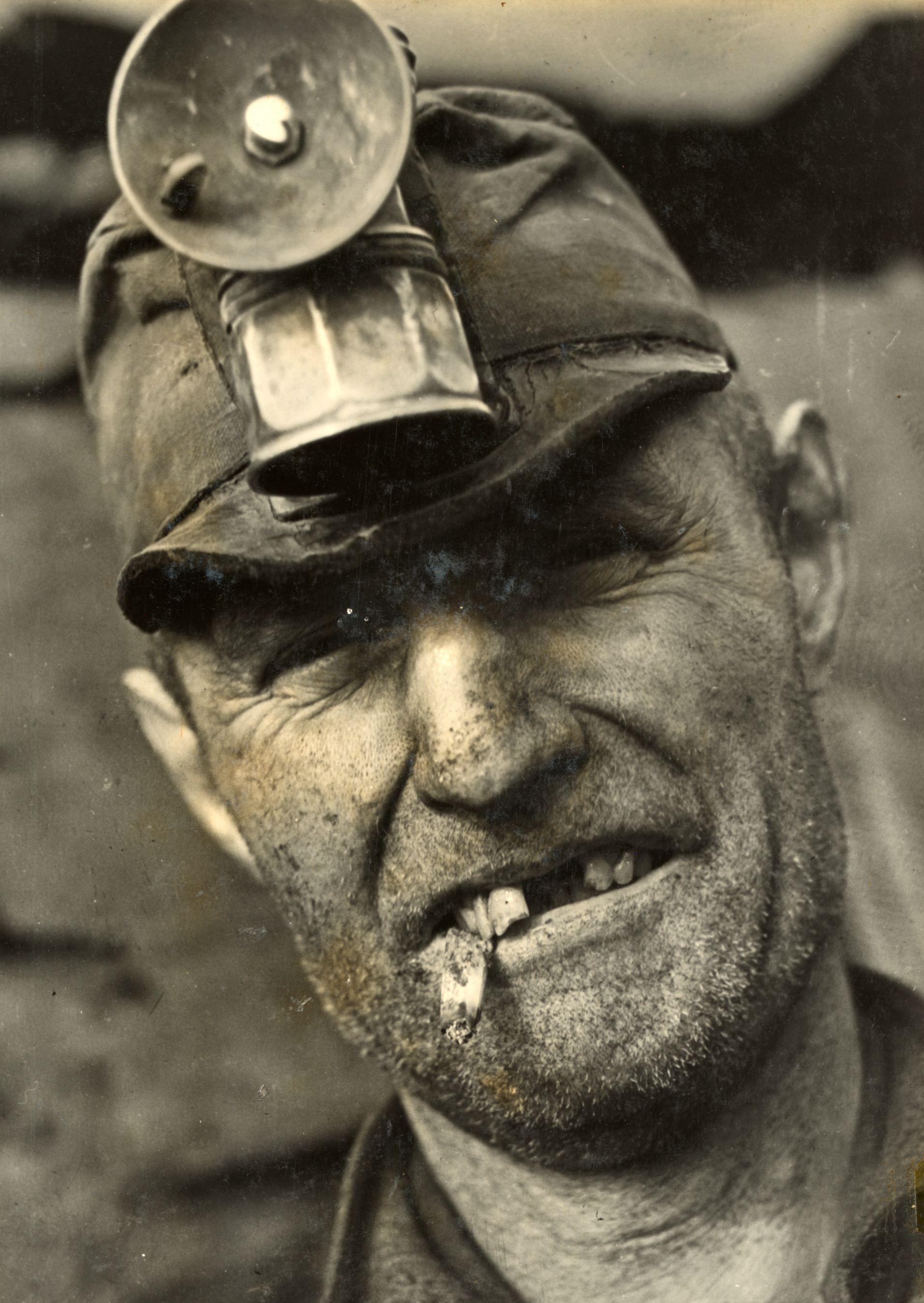 Jack Delano, Bootleg Coal Miner near Pottsville, PA, 1938. Gelatin silver print.