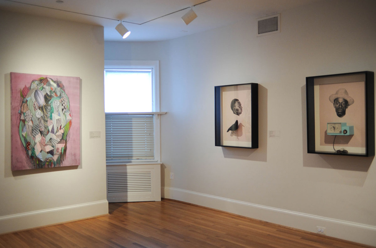 Works by Byun and Lovell on view