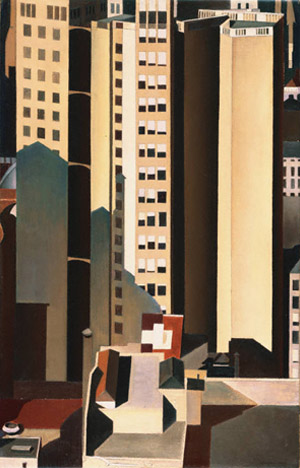 Sheeler_Skyscrapers