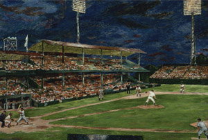 Marjorie Phillips_Night Baseball