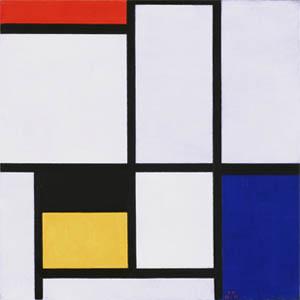 Mondrian_No 9