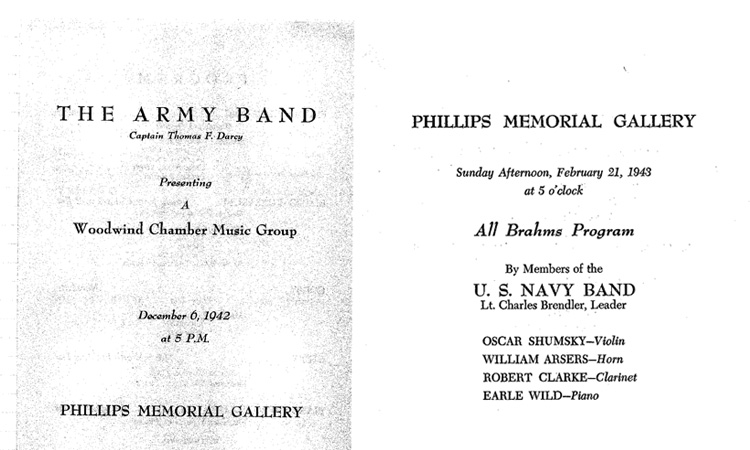 military bands post_archival program