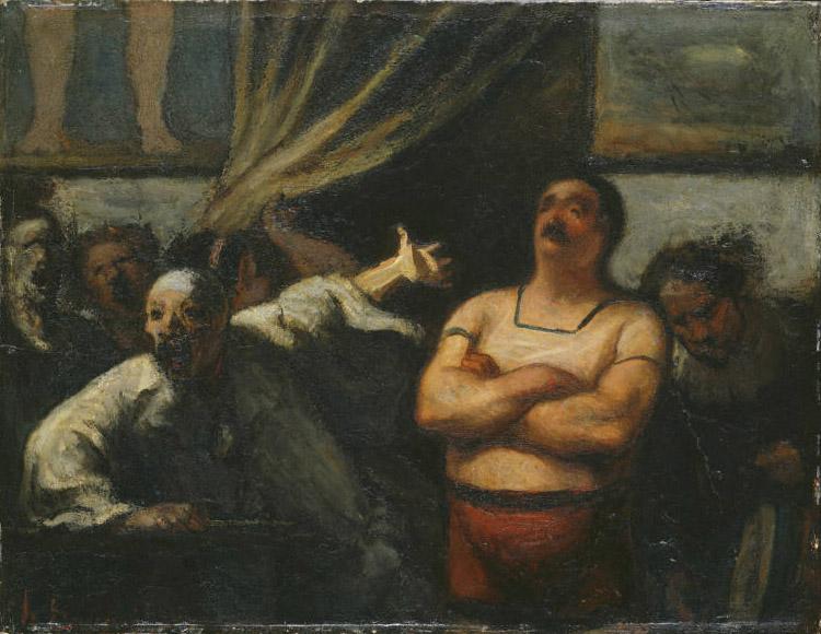 Daumier_Strong Man