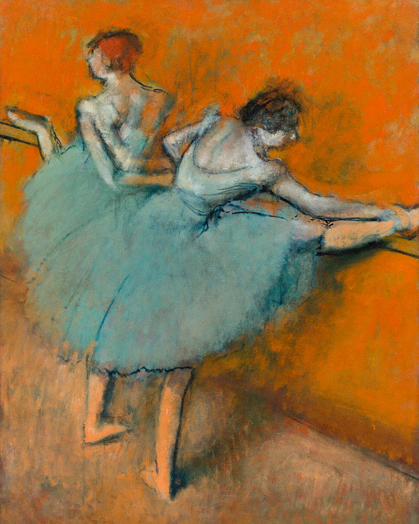Degas_dancers at the barre