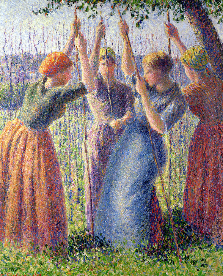 Pissarro peasticks_countdown 4