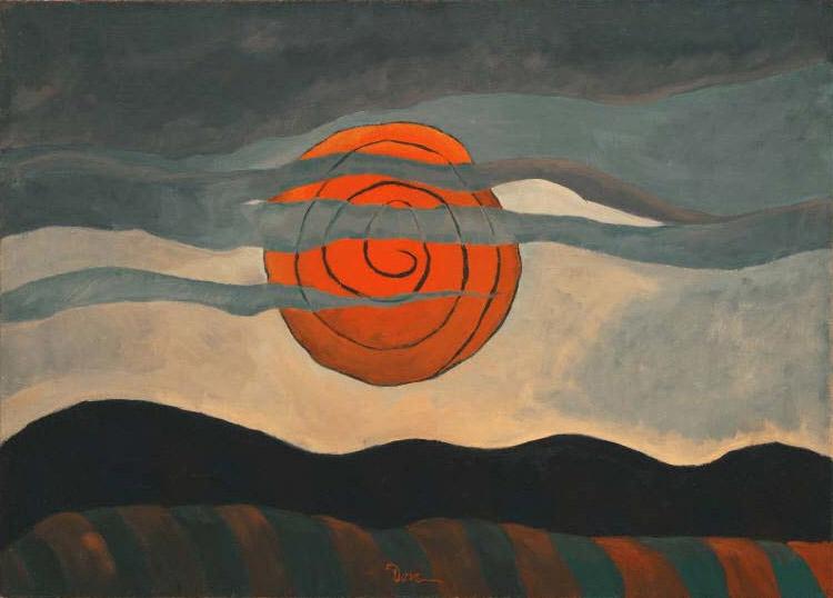 Dove_Red Sun