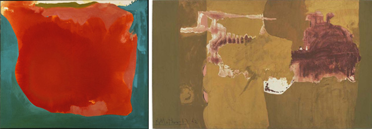 Frankenthaler canyon_Motherwell chi ama crede