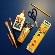 Here are the items I chose from our art workshop