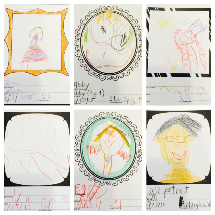 Credits clockwise from top left: Zia from DC; Abby from MD; Naita; Lily from IN; Ellie from CA; and Will from VA.