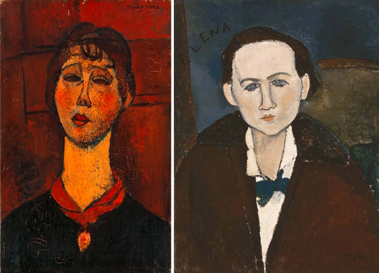 Collection Comparison_Modigliani