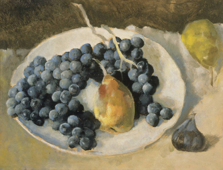 Bossharde_Blue Grapes and Pears