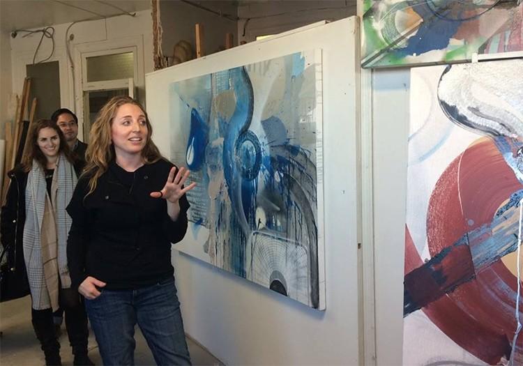 Maggie Michael studio visit_3