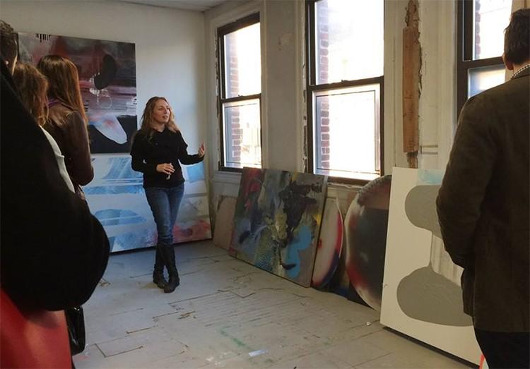 Maggie Michael studio visit_5