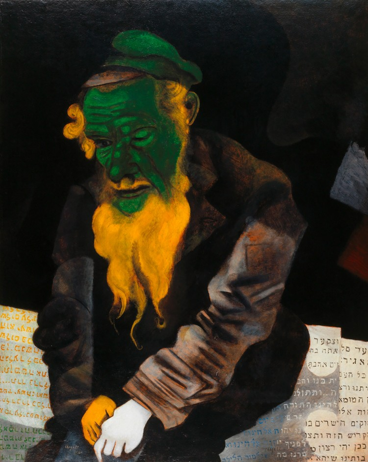 Chagalll_Jew in Green