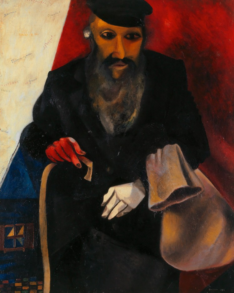 Chagalll_Jew in Red