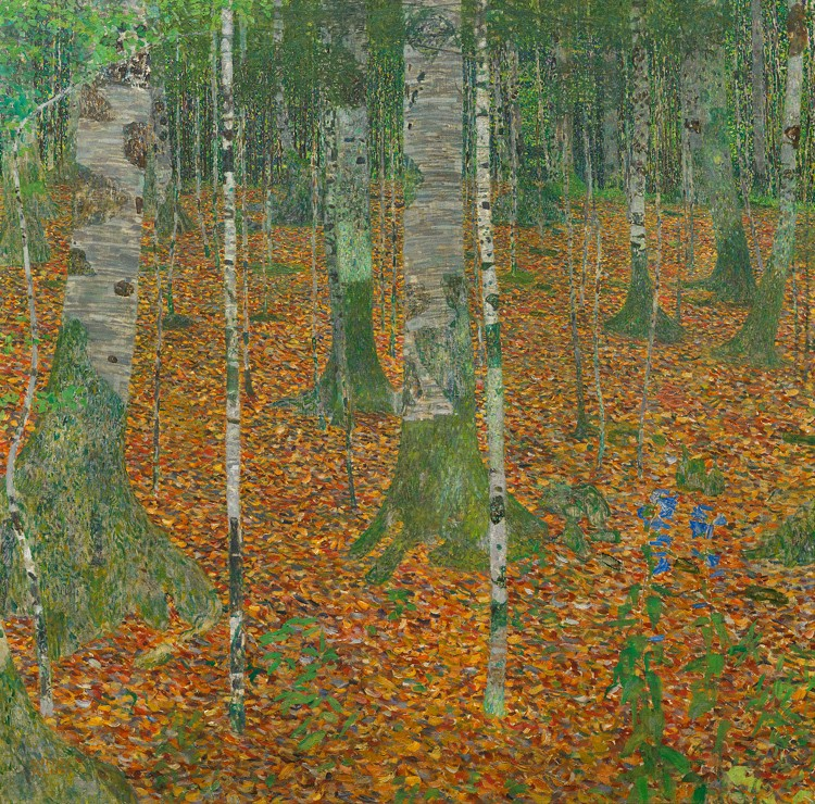 Klimt_Birch Forest