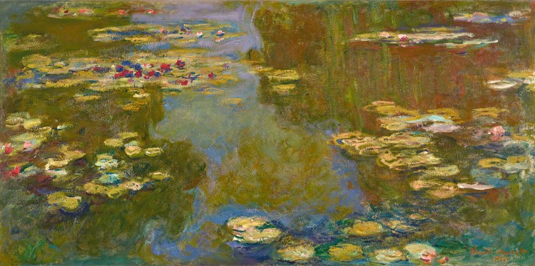 Monet_the water-lily pond