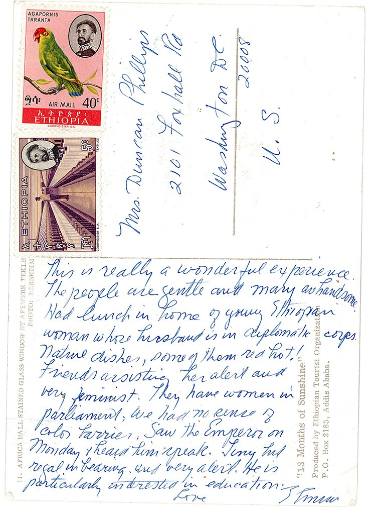 postcard from archives