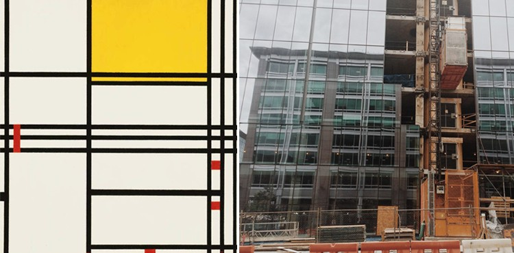 Mondrian No 9_architecture_side by side