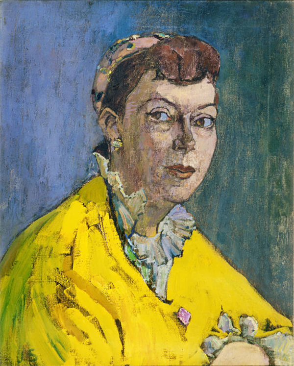 Solman_portrait in yellow and blue
