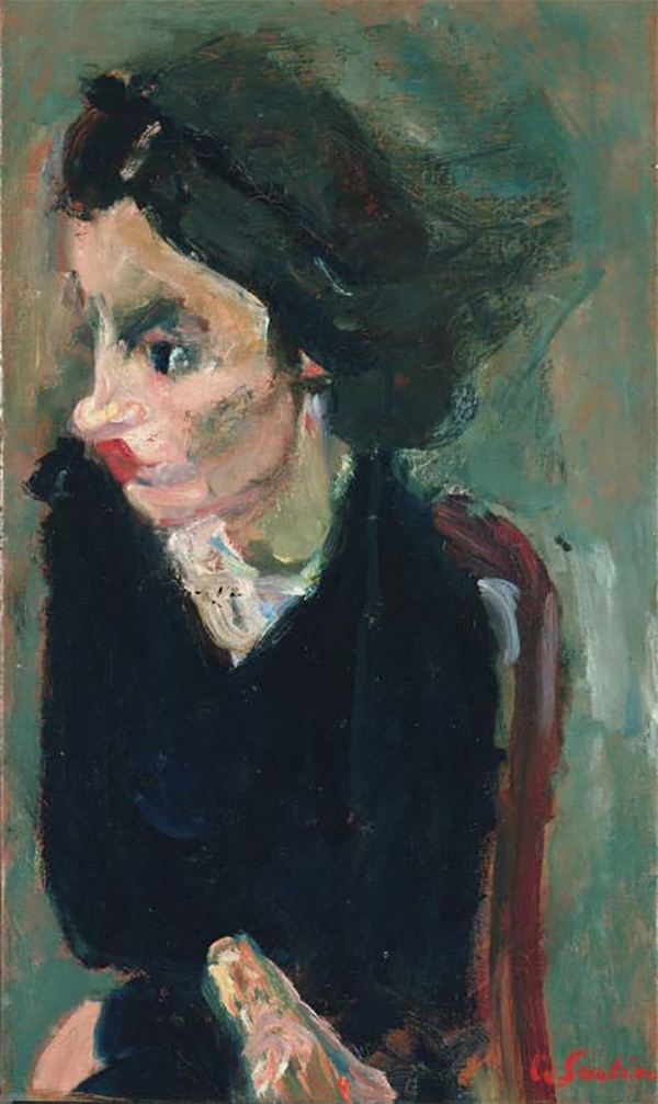 Soutine_woman in profile