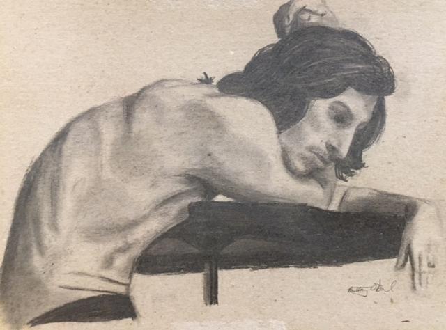 "Brittany O'Dowd, ""Study of Adam"""