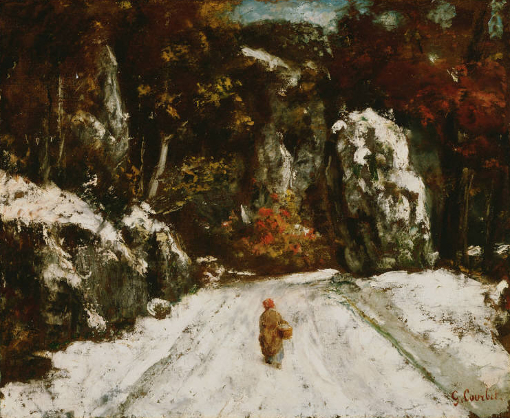Courbet_Winter in the Jura