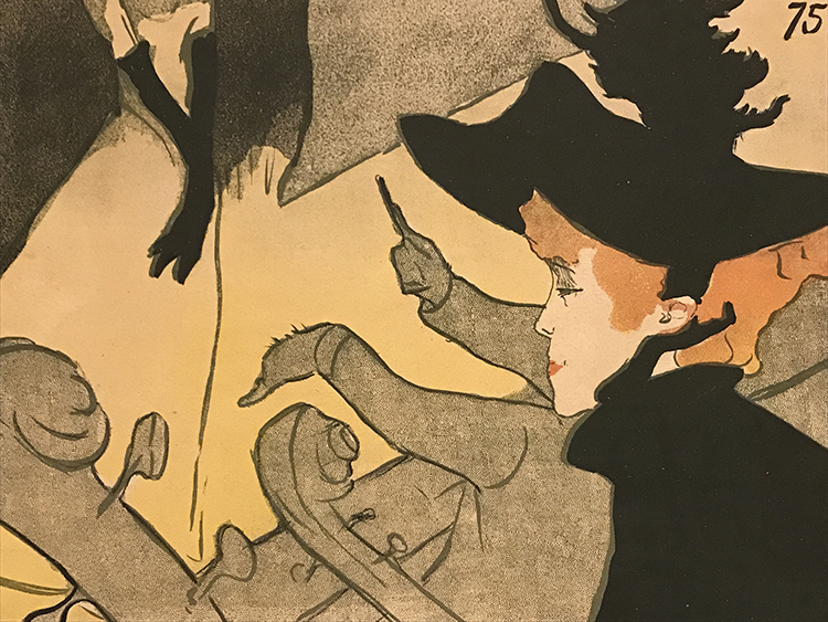 Open call for toulouse lautrec inspired posters by the for Divan japonais