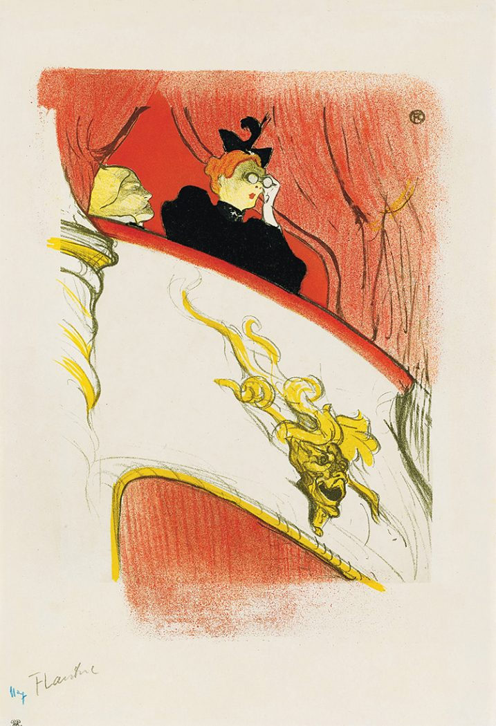 Box with the Gilded Mask_Toulouse-Lautrec