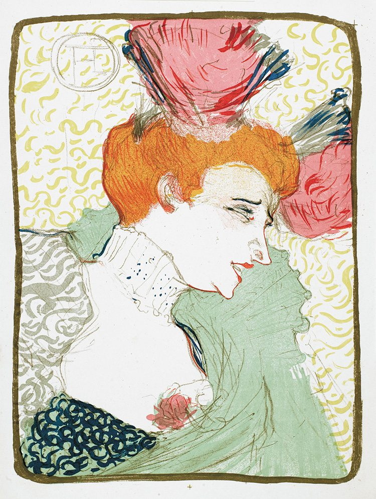 Mademoiselle Marcelle Lender_Toulouse-Lautrec